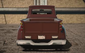 Saints Row IV variants - Betsy Average - rear