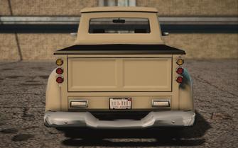 Saints Row IV variants - Betsy Ultimate - rear