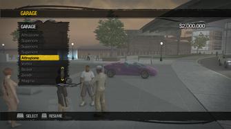Saints Row Mega Condo - Garage