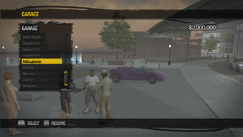 Saints Row Mega Condo - Garage