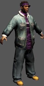 Saints Row character render - Dex's body