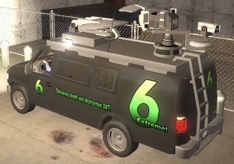 Anchor - News 6 - rear left in Saints Row 2