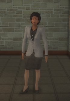 Business female - black - character model in Saints Row 2