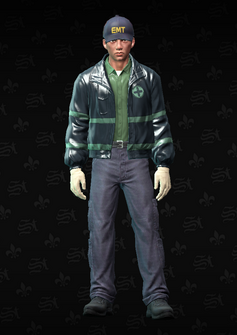 EMT01 - John EMT - character model in Saints Row The Third