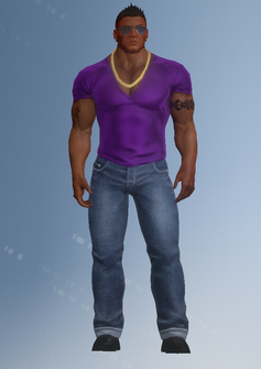 Gang Customization - Clubber 6 - Luigi - in Saints Row IV