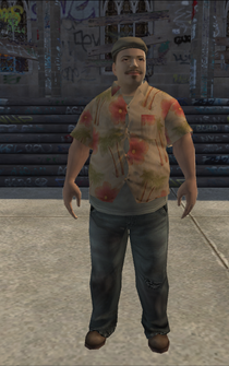 PoorHeavy male - asian - character model in Saints Row