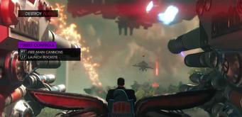 Turret controls - Gamespot gameplay video