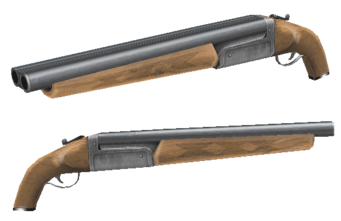 12 Gauge - Saints Row 2 model