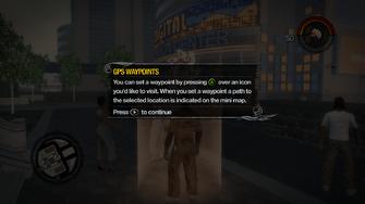 GPS Waypoint set waypoint tutorial in Saints Row 2