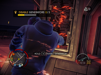 Hotspot - disabling generator in Saints Row IV