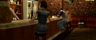 Kanto Connection - Pierce and Playa sitting at bar
