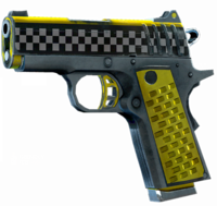 SRIV Pistols - Quickshot Pistol - 9MM Tactical - Taxi Cab