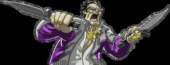 Saints of Rage boss gat