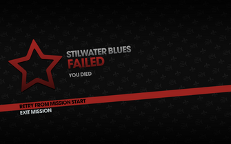 Stilwater Blues fail screen
