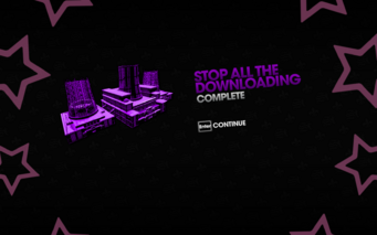 Stop all the Downloading complete