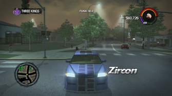 Zircon - with decal - front in Saints Row 2