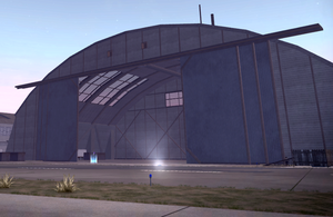 Airport Hangar crib