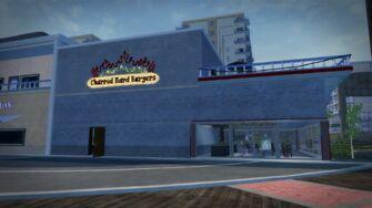 Charred Hard Burgers in Stilwater Boardwalk - east side