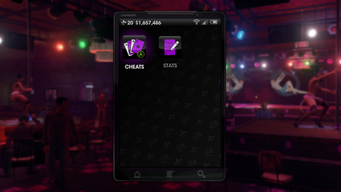 Extras menu in Saints Row The Third