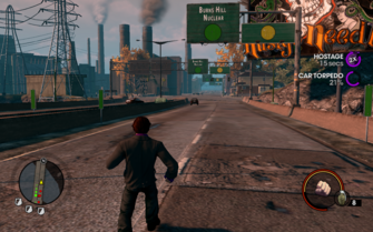Hostage on Cruise Control in Saints Row The Third