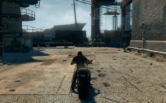 Kaneda - rear in Saints Row The Third