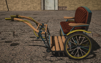Saints Row IV variants - Pony Cart Default - left
