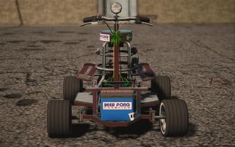 Saints Row IV variants - Shayne's Barstool Racer - front