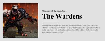 Saints Row website - People - The Zin - The Wardens