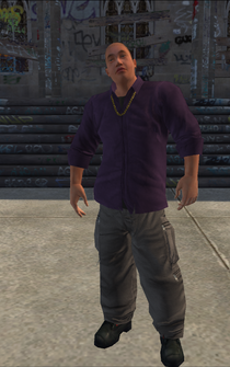 Saints male KillaB - asian - character model in Saints Row