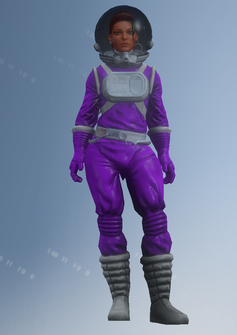 Shaundi - space suit - character model in Saints Row IV