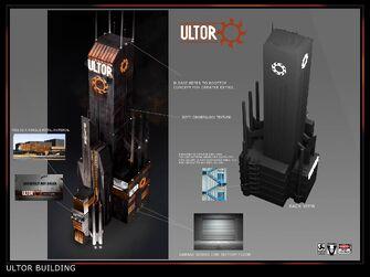 Ultor Building - Concept Art