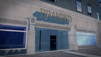 Branded in Filmore - south wall