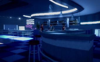 Club Koi - upper level bar