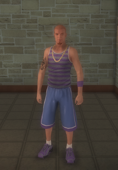 Gang Customization - Sporty - male soldier - white