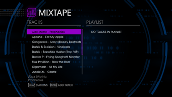 K12 97.6 - Saints Row IV tracklist - top