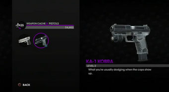 KA-1 Kobra in the Weapon Cache