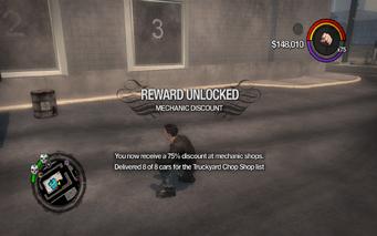 Mechanic Discount 3 unlocked SR2