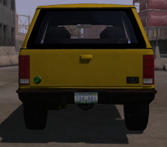 Nordberg - rear in Saints Row