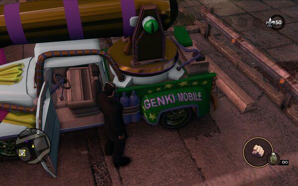 Rim cover Genki Mobile
