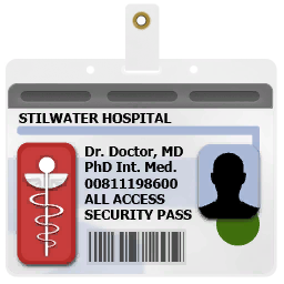 SR2 Badge Hospital