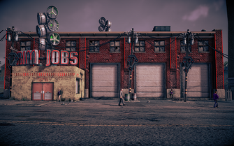 Saints Row IV - Rim Jobs exterior