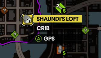 Shaundi's Loft on Map