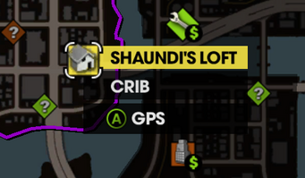 Shaundi's Loft on Map