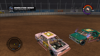 Demolition Derby in Saints Row - Wreck 3 cars to win