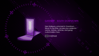 Gateway - South Downtown Unlock screen