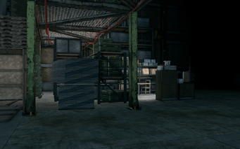 Guard Armory interior with break area in Saints Row The Third