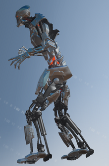 Murderbot left