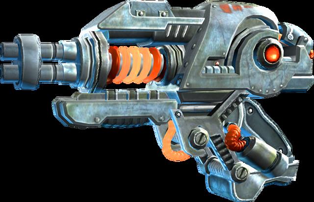 File:SRIV Shotguns - Thumpgun - Thumpgun - Default.png
