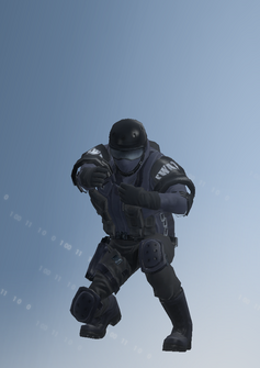 SWAT riot - Colin - character model in Saints Row IV