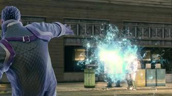 Saints Row IV Announce Teaser - freeze blast